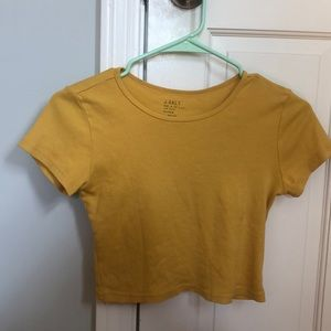 Pacsun hello cropped t-shirt!